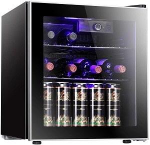 Antarctic Star Wine Cooler Cabinet Beverage Refrigerator