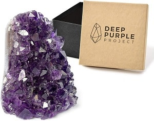 Deep Purple Project Amethyst Crystal Geodes