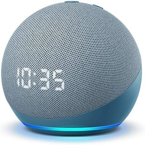 Echo Dot (4th Gen) Smart speaker with clock and Alexa