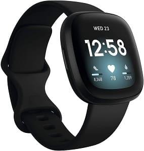 Fitbit Versa 3 Fitness Activity Tracker Aries man gift idea