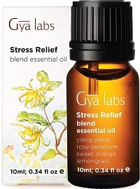 Gya Labs Stress Relief Essential Oil Blend