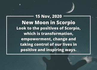 How to Make the Most of the New Moon in Scorpio, 15 November 2020