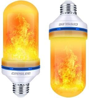 LED flame lightbulbs