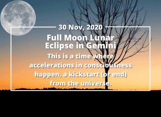 Make the Most of the Full Moon Lunar Eclipse in Gemini, November 2020