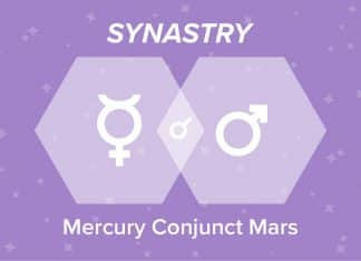 Mercury Conjunct Mars Synastry