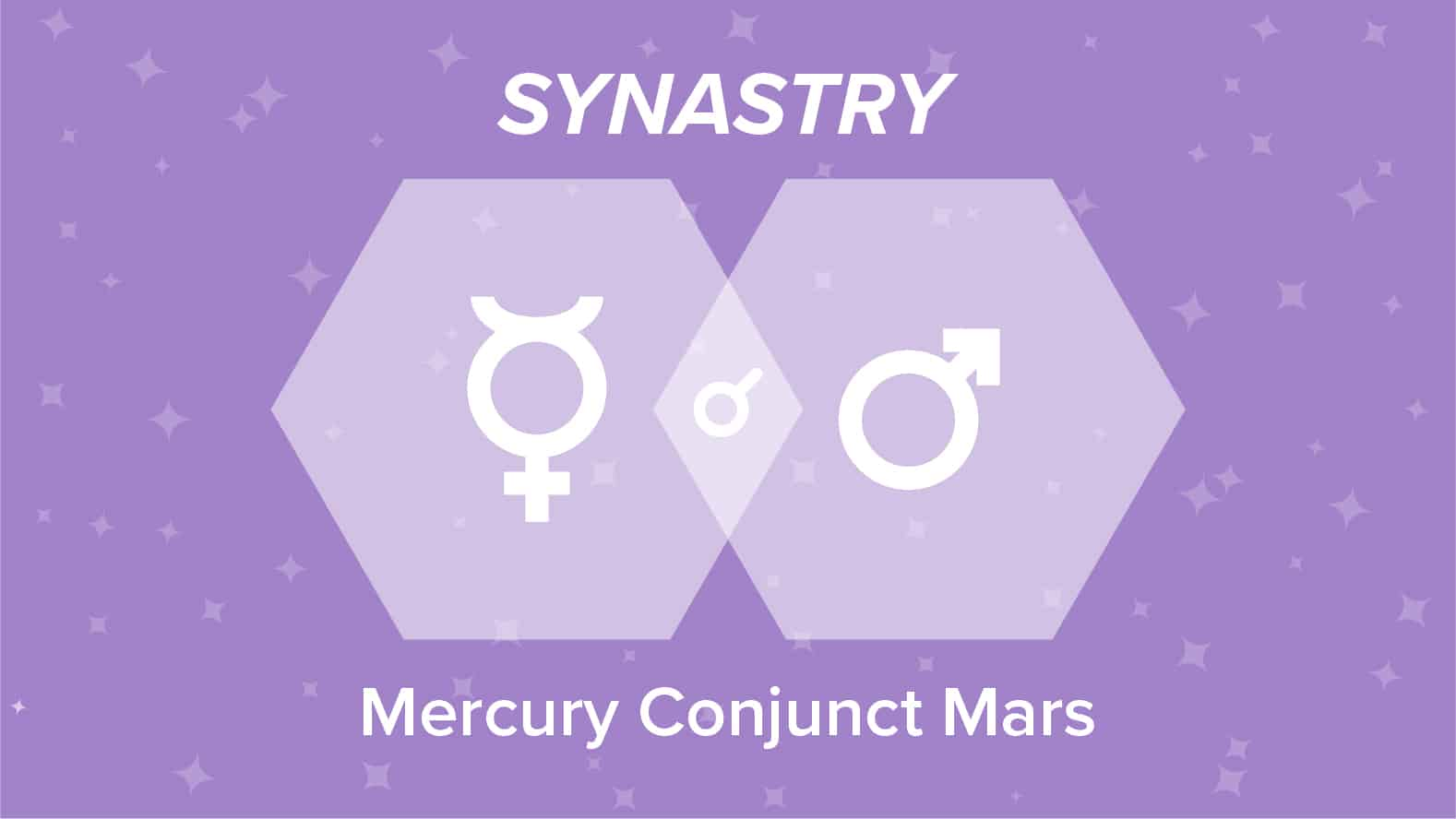 Mercury Conjunct Mars Synastry: Relationships and Friendships Explained