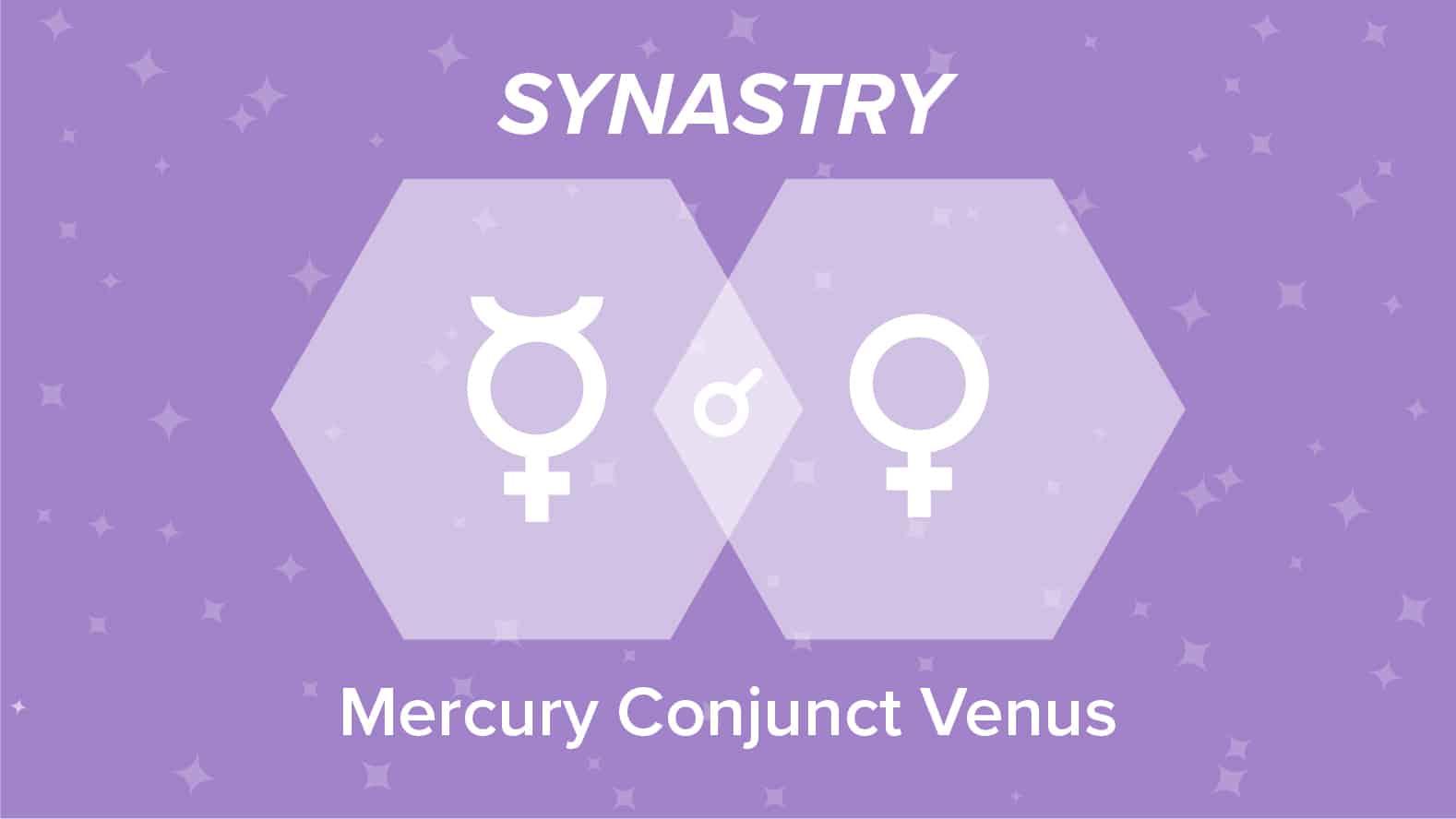 Mercury Conjunct Venus Synastry