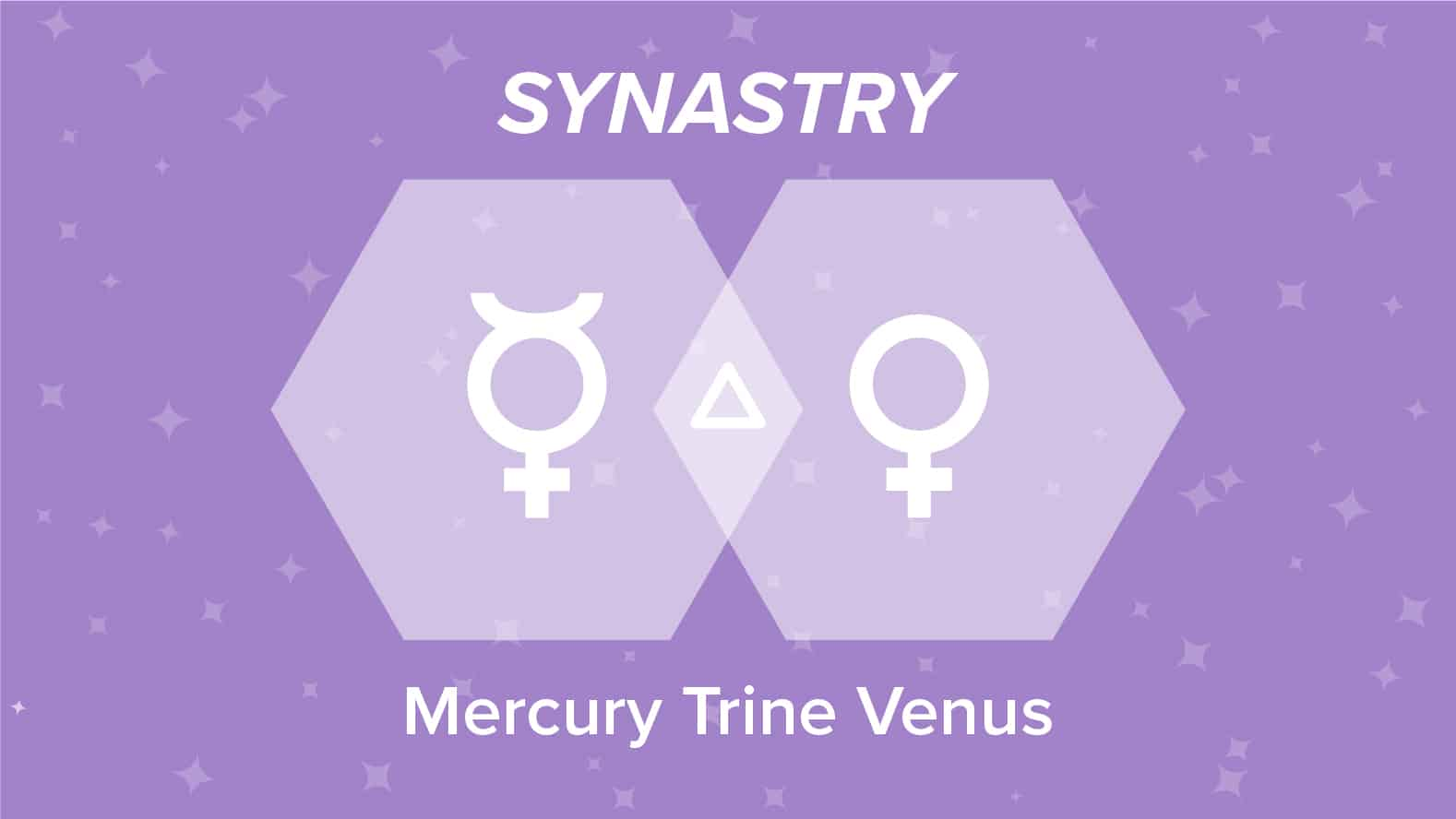 Mercury Trine Venus Synastry: Relationships and Friendships Explained
