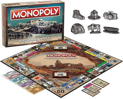 Monopoly National Parks 2020 Edition