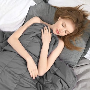 Adult weighted blanket for women