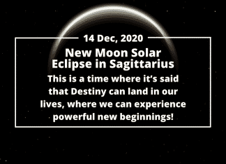Make the Most of the New Moon Solar Eclipse in Sagittarius, 14 December 2020