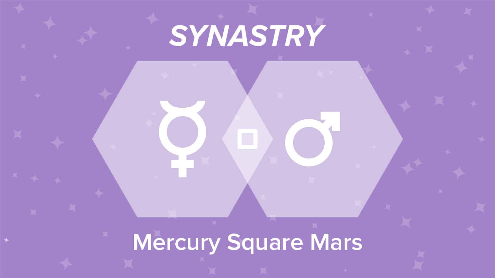 Mercury Square Mars Synastry: Relationships and Friendships Explained