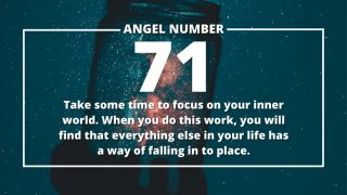 Angel Number 71 Meanings
