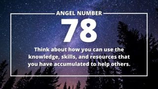 Angel Number 78 Meanings