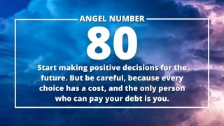 Angel Number 80 Meanings