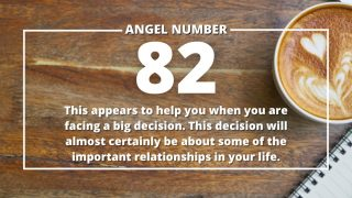 Angel Number 82 Meanings