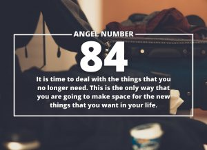 Angel Number 84 Meanings