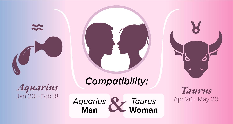Aquarius Man and Taurus Woman Compatibility