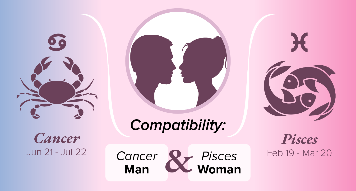Pisces woman compatibility with cancer man