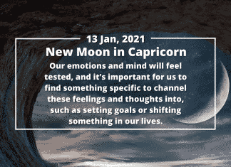 How to Make the Most of the New Moon in Capricorn, January 2021