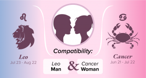 Leo Man and Cancer Woman Compatibility