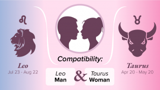 Leo Man and Taurus Woman Compatibility