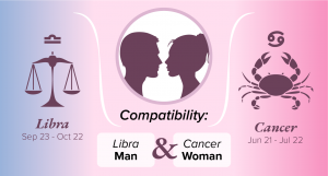 Libra Man and Cancer Woman Compatibility