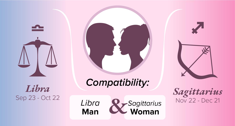 Libra Man and Sagittarius Woman Compatibility