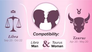 Libra Man and Taurus Woman Compatibility