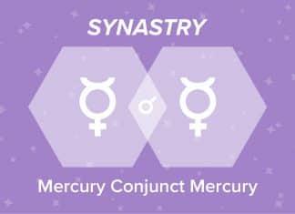 Mercury Conjunct Mercury Synastry