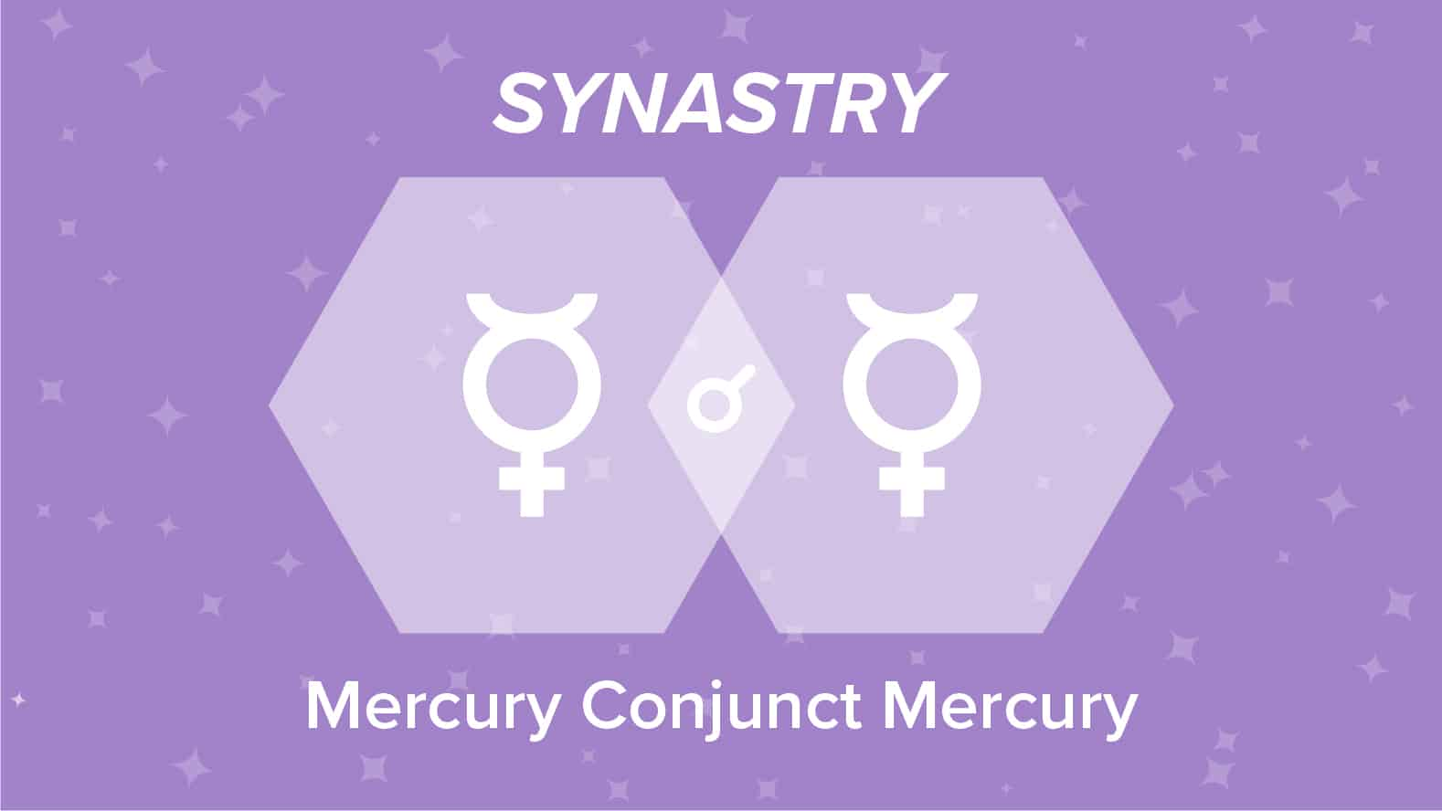 Mercury Conjunct Mercury Synastry: Relationships and Friendships Explained