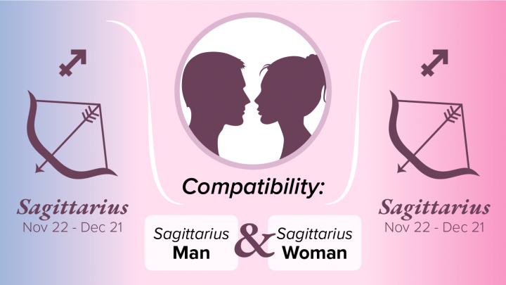 Sagittarius man and sagittarius woman sexually
