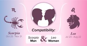 Scorpio Man and Leo Woman Compatibility