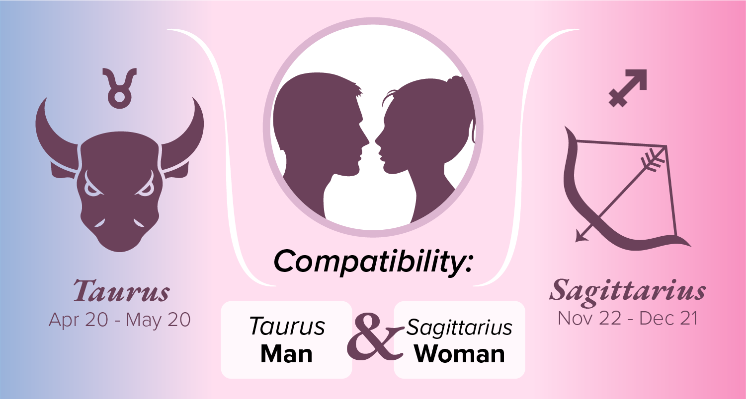 Taurus Man and Sagittarius Woman Compatibility: Love, Sex, and Chemistry