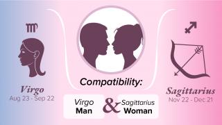 Virgo Man and Sagittarius Woman Compatibility
