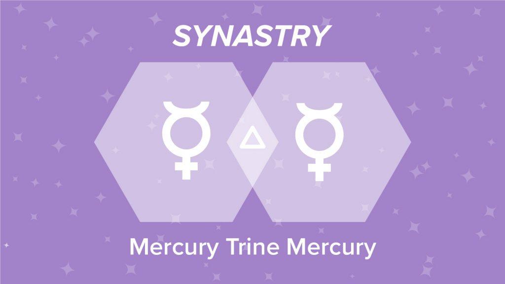 Mercury Trine Mercury Synastry