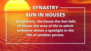 Sun in Houses Synastry Meanings 1st through 12th House