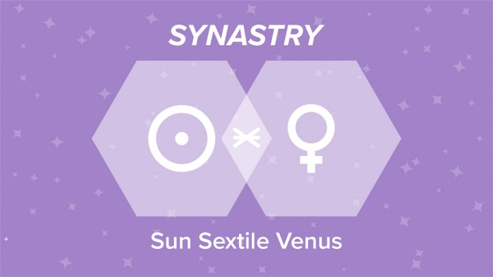 Sun Sextile Venus Synastry