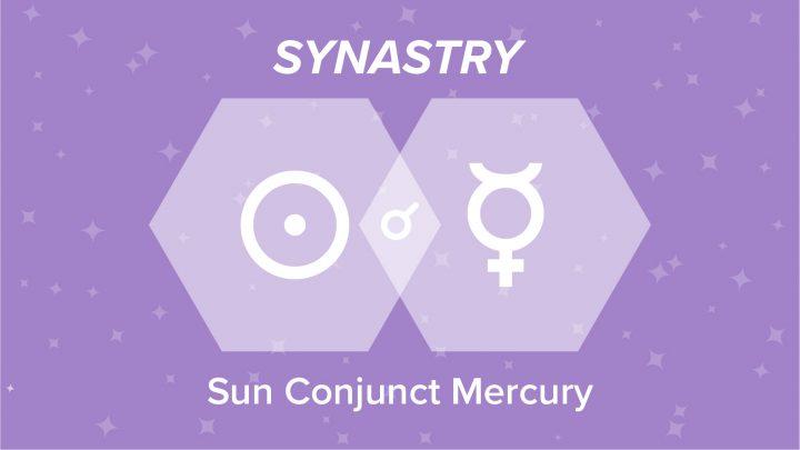 Sun Conjunct Mercury Synastry