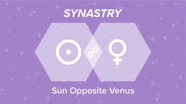 Sun Opposite Venus Synastry