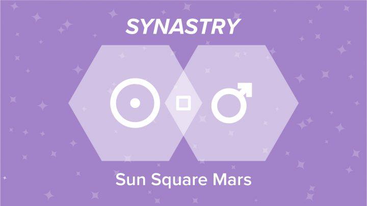 Sun Square Mars Synastry