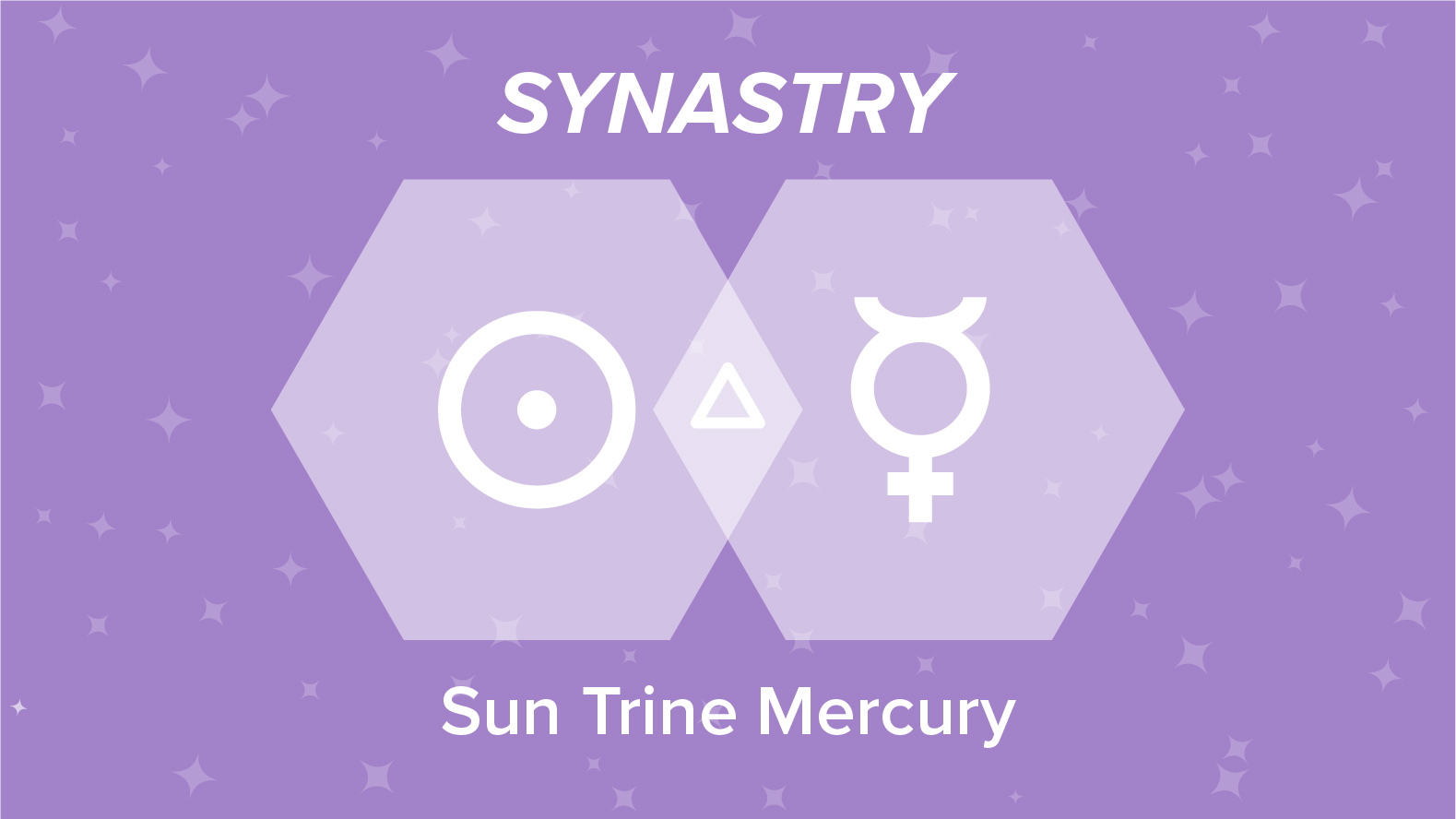 Sun Trine Mercury Synastry
