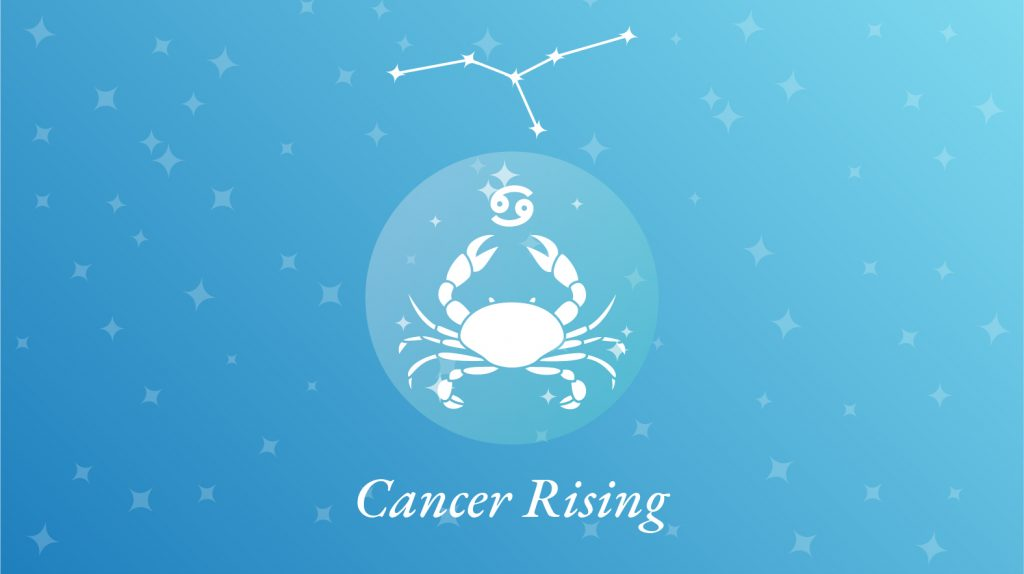 Cancer Rising Sign Constellation