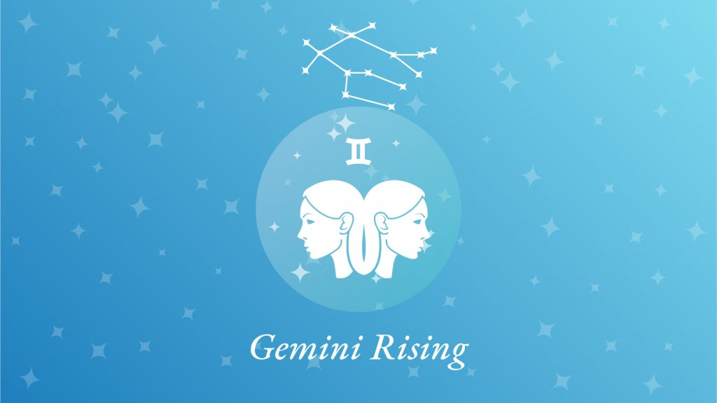 Gemini Rising Sign Constellation