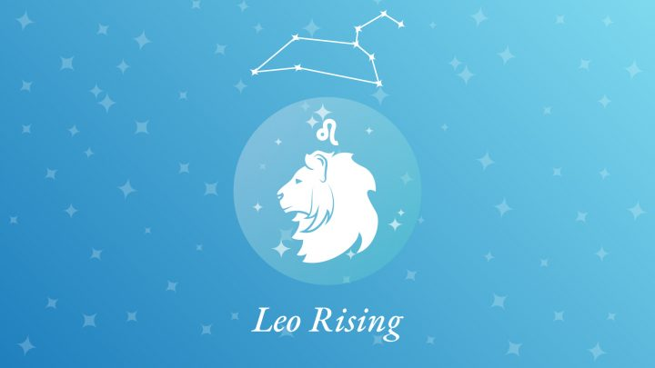 Leo Rising Sign Constellation