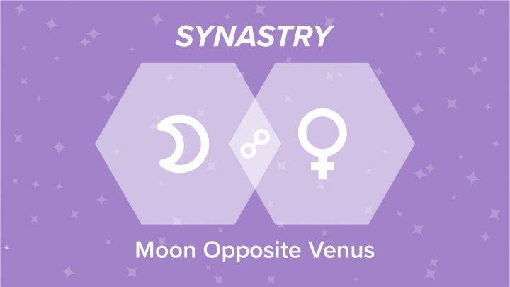 Moon Opposite Venus Synastry