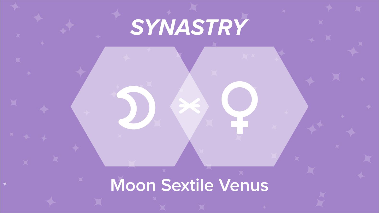 Moon Sextile Venus Synastry