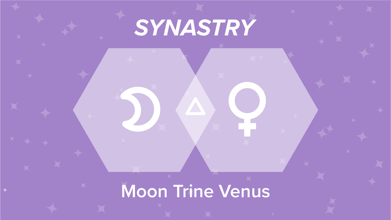 Moon Trine Venus Synastry: Relationships and Friendships Explained