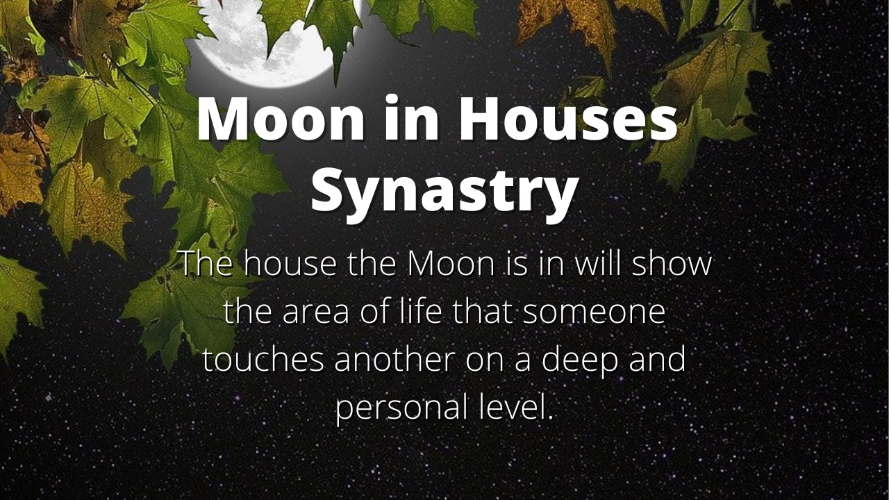 Moon in Houses Synastry Meanings