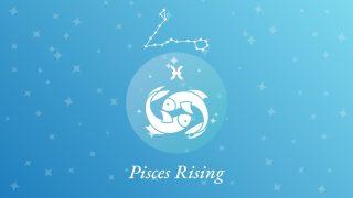 Pisces Rising Sign Constellation